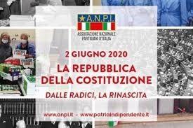 Anpi ricorda il 74° anniversario della fondazione della Repubblica.