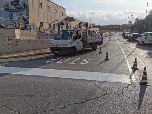 Segnaletica stradale, inizio lavori a Boccelle e Via Maestrale