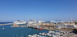 Crociere, bene la ripartenza: a Civitavecchia vale 105 milioni di euro