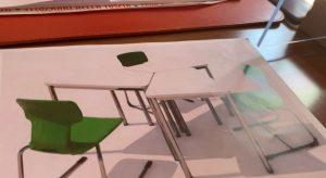SCUOLA E COVID. Al Cardarelli di Tarquinia lezioni tra aule colorate e casa