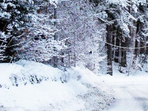 In Valle d'Aosta nevica plastica