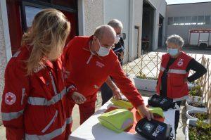 World medical aid onlus odv dona due defibrillatori alla Cri di Tarquinia