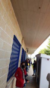 ''Ladispoli, in fila da ore alla casa della salute per i tamponi''