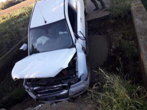 Si apre una voragine a Pian di Spille: automobilista sprofonda con il pick up