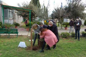 Noemi Di Segni (Ucei) in visita a Tarquinia alla Cittadella di Semi di pace