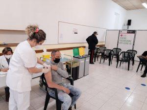Covid, anche nel centro di Tarquinia partiti i vaccini alle forze dell'ordine