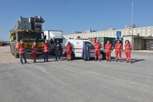 Nuovo autoveicolo per la Cri: i volontari ringraziano Pietro e Raffaele Cavallaro