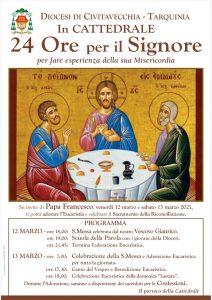 In Cattedrale ''24 Ore per il Signore''