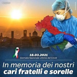 Giornata nazionale in ricordo delle vittime del Covid: a Tarquinia oggi bandiere a mezz'asta e un minuto di silenzio