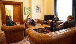 Tarquinia, visita del nuovo direttore generale dei musei del Mibact Massimo Osanna