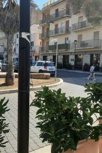 Ladispoli: messo fuori uso l'impianto di megafoni sul lungomare