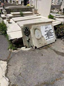 Cimitero monumentale devastato: lettera al sindaco Tedesco