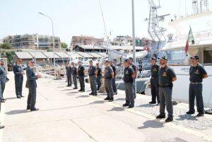 Gdf: il comandante regionale del Lazio in visita a Civitavecchia