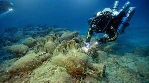 """Gli Etruschi e Il Mare"""", giovedì 29 luglio alle 21.30 nella Lizza della Torre di Dante a Tarquinia viaggio sui fondali antistanti il santuario di Pyrgi"""