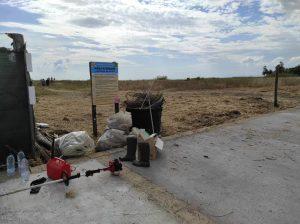 Cerveteri: bonificata da rifiuti di ogni genere l'area kite
