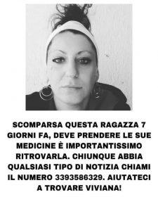 Marina di Cerveteri: da sette giorni Viviana manca da casa, l'appello dei famigliari