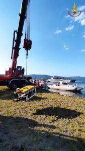 Olandese disperso nel lago di Bracciano: si scandagliano i fondali