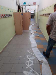 Vandali alla Don Milano di Valcanneto: scuola imbrattata