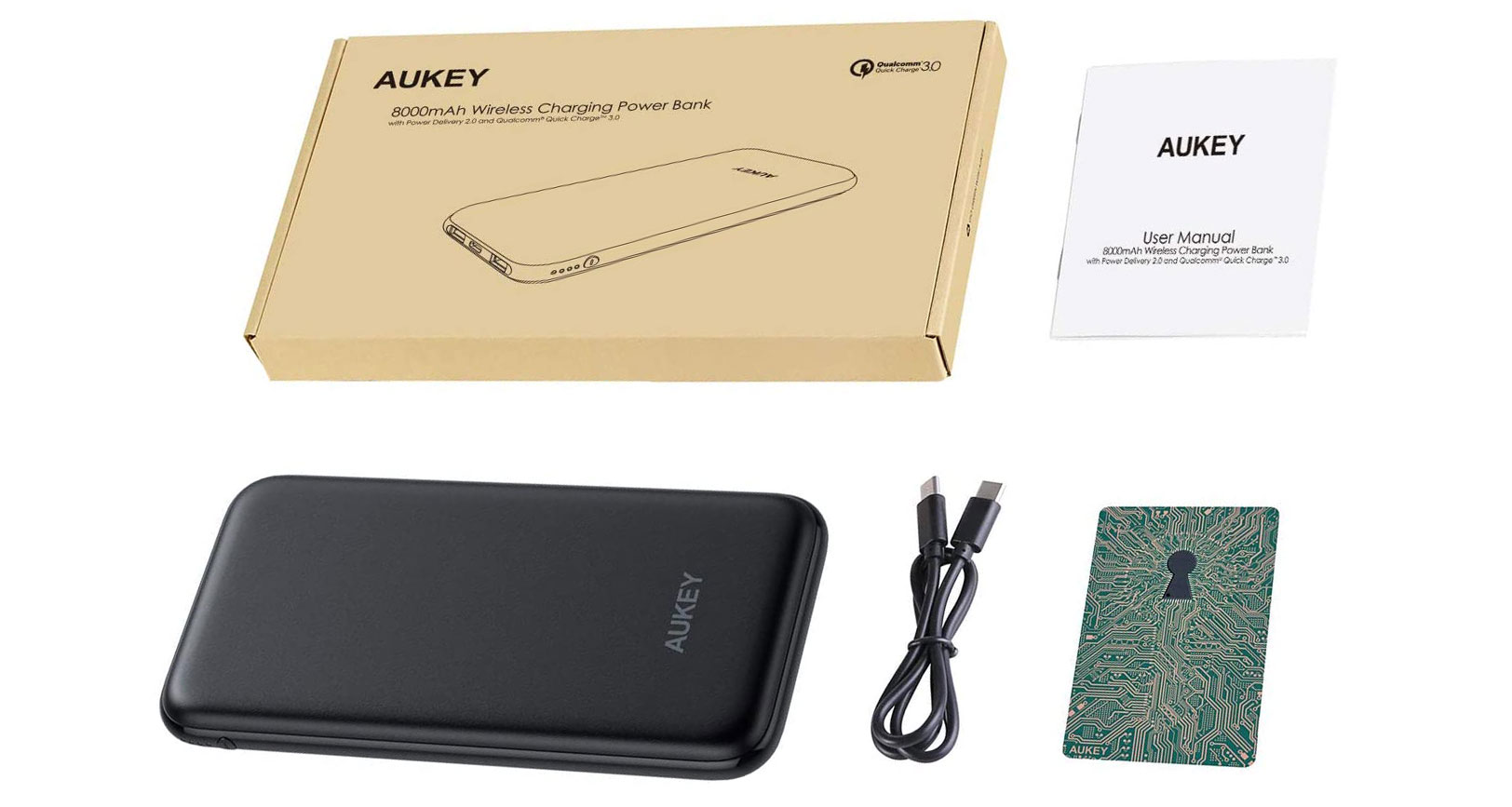 PB-Y25, il powerbank con carica wireless